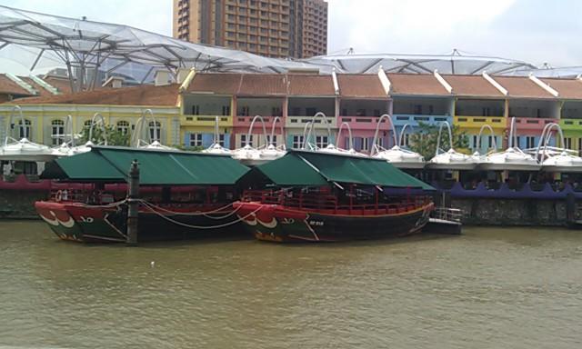 Clarke Quay, Singapore River