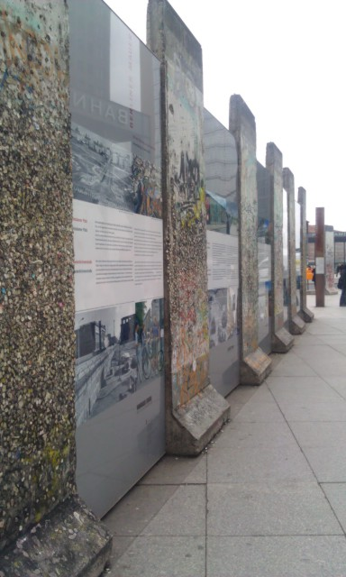 What's left of the Berlin Wall (from 'West Berlin')